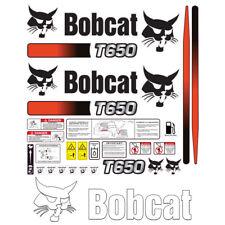 Bobcat T650 Skid Steer Set Vinyl Decal Sticker 3m Free Shipping