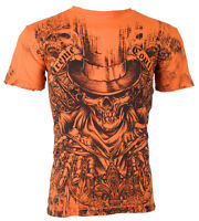 Xtreme Couture AFFLICTION Mens T-Shirt OFFERING Tattoo Biker MMA M-3XL $40 c