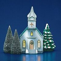 Dept 56 Snow Village ~ All Saints Church ~ EUC With Box 50709