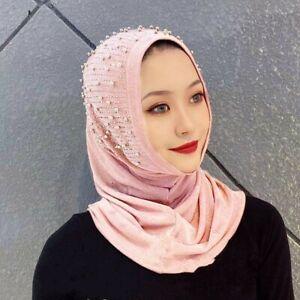 One Piece Amira Muslim Hijab Islamic Turban Women Head Scarf Shawl Full Cover