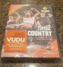 New Zumba Country Dance Fitness Music Workout DVD