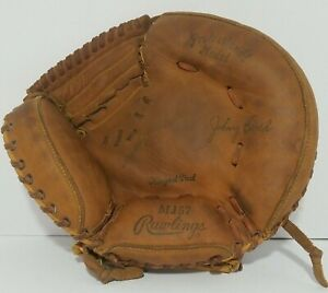 Johnny Bench Rawlings Baseball Glove MJ57 Catcher Professional  PREOWN