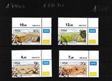 Zuid-Afrika 771-774 (compleet.Kwestie.) gestempeld Eckrandstücke mit Ausgabedatu