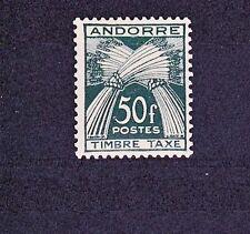 Postage Due Andorran Stamps