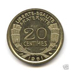 Ve REPUBLIQUE CONCOURS ESSAI DU 20 CENTIMES COCHET 1961