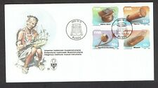 South West Africa (SWA) 1985, Musical Instruments of SWA on FDC + Description