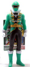 Power Rangers Kaizoku Sentai Gokaiger Gokai Green Soft Vinyl Action Figure
