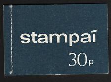 IRELAND 1971 30p COMPLETE BOOKLET SB19.