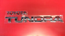 """2007-2014 """"TOYOTA"""" and """"TUNDRA"""" TAILGATE EMBLEMS 75471-0C050 / 75444-0C010"""
