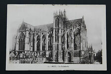 Postcard antique CPA METZ - The Cathedral