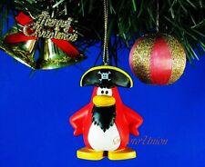 *K500 Decoration Ornament Xmas Decor Club Penguin Red Pirate ROCKHOPPER Captain