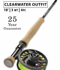 Orvis Clearwater Euro Nymph 3wt 10' Complete Fly Rod Outfit - Free Shipping