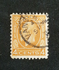 CANADA 1932-33 4c Yellow Brown. SG 322. Fine Used. (MA43)