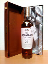 Macallan 25 years Fine Oak Bourbon & Sherry Cask SINGLE MALT 43%/0,7l rarità!