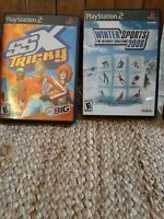 SSX Tricky Greatest Hits (Sony PlayStation 2, 2001) and winter sports 2008