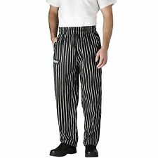 Chefwear 3500-35 Ultimate Chef Pants Black Chalkstripe all sizes XS-2XL NEW!