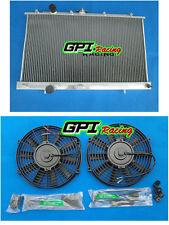 Aluminum Radiator &Fans Mitsubishi Lancer EVO 4 5 6 IV V VI 96-01 Manual