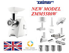 Nouveau électrique Cuisine Zelmer ZMM5580W 987.80 viande hachoir broyeur centrifugeuse Big Set!