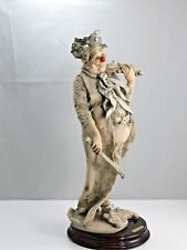 giuseppe armani figurines Clown Limited Edition 1000 with Box the happy fiddler.