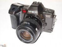 Minolta Dynax 8000i + Objektiv AF-Zoom 35-70/3,5-4,5 + Portrait-und Fantasy-Card