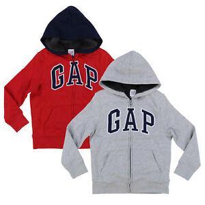 Gap Kids Boys Hoodie Zip Up Faux Fur Sherpa Lined Jacket Sweatshirt S M L Xl New