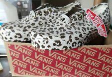 Nuevo fuera de imprenta-Vans Auténticas Mono Estampado de Leopardo para Mujer Zapatos de Skate Talla 5 estilo #44