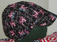 Think Pink: Red's American Made Welding Hat, Biker 4 Working Men $7.50 each