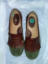 Born Womens Loafers Size 8 / 39 M Green Suede Leather