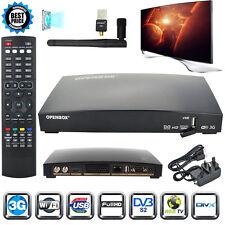GENUINE OPENBOX V8S HD Freesat PVR TV Satellite Receiver Box&wifi dongle UK NEW