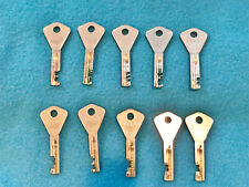 10 ABLOY KEY LOT - ALL DIFFERENT  **