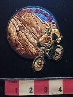 Bicycle Biker ROTATING Wyoming Patch ~ YELLOWSTONE NATIONAL PARK 73B4