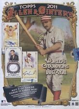 2011 Topps Allen & Ginter Baseball Hobby Box