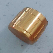 """2p 1/4"""" Shaft 17mmX19mm Gold Color Car/Boat/Home Audio AUX Amplifier Rotary Knob"""