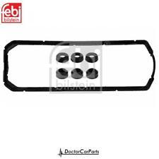 Rocker Cover Gasket Set for VW TRANSPORTER 1.9 CHOICE2/2 90-03 T4 D TD Febi