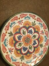 3 Williams Sonoma Melamine Salad Plates, New,PRETTY FLOWER PATTERN