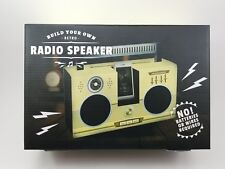 Build Your Own Retro Radio Speaker No batteries/wires required. Phone Amplifier