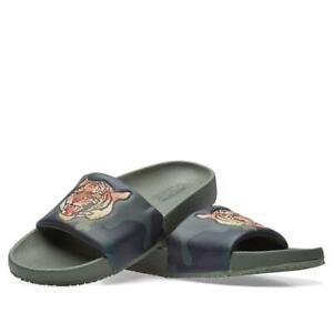 Polo Ralph Lauren Men's Cayson Tiger Head Beach Pool Comfy Fashion Slide Sandals