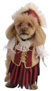 Pirate Queen Wench Caribbean Cute Fancy Dress Up Halloween Pet Dog Cat Costume