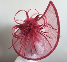Elegant Headband Fascinator Hat Alice Band Wedding Ladies Day Royal Ascot Race