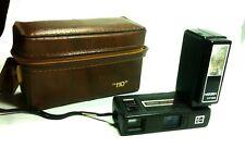 KODAK TELE INSTAMATIC 608 + FLASH NISSIN STROBOLITE TF168 Vintage Camera & Case