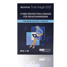 Acronis True Image 2021 1PC/Mac 1Jahr Integriertes Backup Virenschutz 250 GB CLD