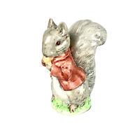 Beatrix Potter's Timmy Tiptoes Figurine 1948 Beswick England Squirrel