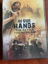 In Our Hands The Battle for Jerusalem Cbn Documentary Dvd New Free Ship