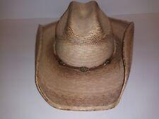 Cattleman Palm Sonora Western Hat Tan