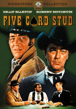 Five Card Stud (DVD,1968)