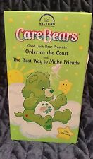 "Care Bears ""Order on the Court"" & ""The Best Way to Make Friends"" USED VHS"