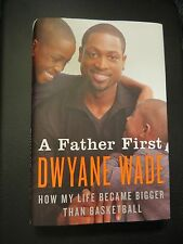 DWYANE WADE SIGNED IN PERSON*A Father First*1ST/1ST HCDJ CHICAGO BULLS WOW!