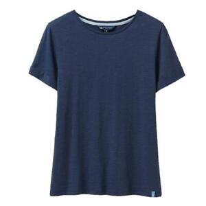 Crew Clothing Slub Cotton T-Shirt - Navy - RRP £22