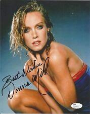 Donna Mills authentic signed autographed 8x10 photograph holo JSA COA