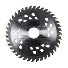 SUNDELY 115mm Angle Grinder saw blade for wood and plastic 40 TCT Teeth AU